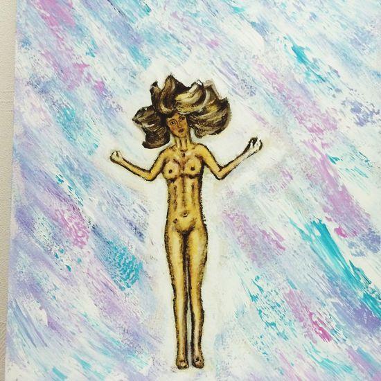 Art Enjoying Life рисунок акрил