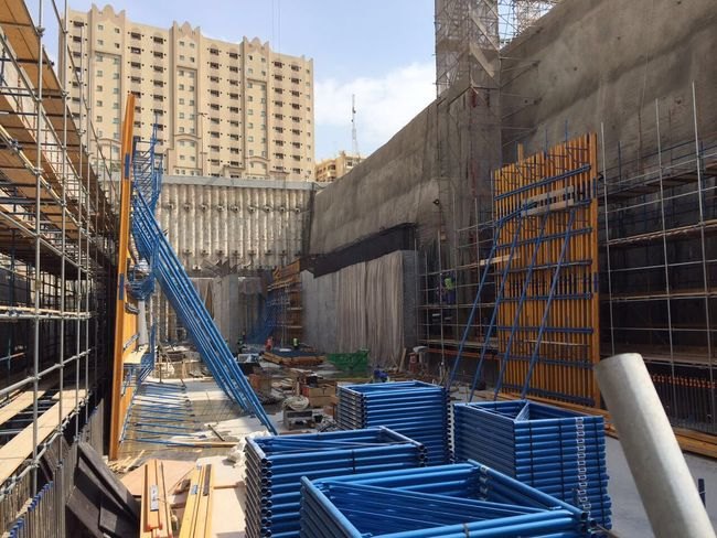Bin Mahmoud Construction Heart Environment Qatar