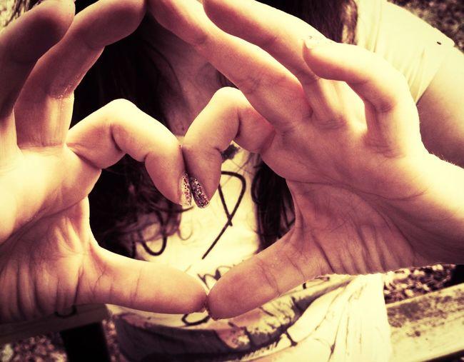 Love Love Handshape I Love You ! Heart Hand