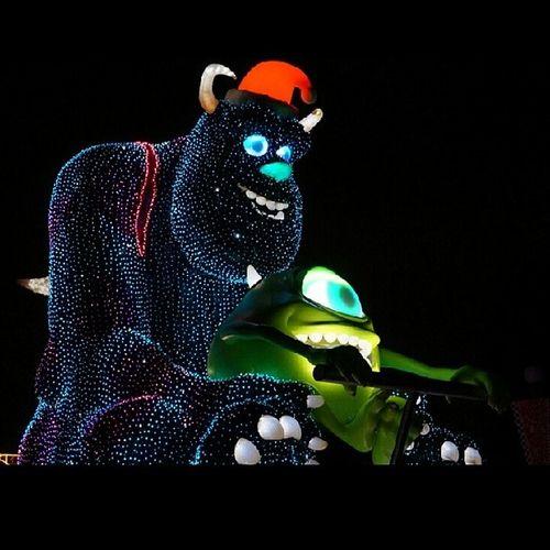 20131110 マイク&サリー Disny Disnyland Monstersinc