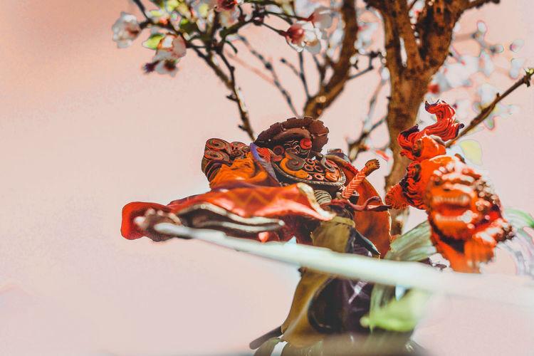 I m an art-toy collector :) Animal Representation Animal Themes Art Art, Drawing, Creativity Arttoys Bonsai Tree Close-up Figure Figurephotography FinalFanatasy Hobby Japanese  Japanese Culture Sculpture Spring Statue Still Life Stlllifephotography Videogames Yojimbo