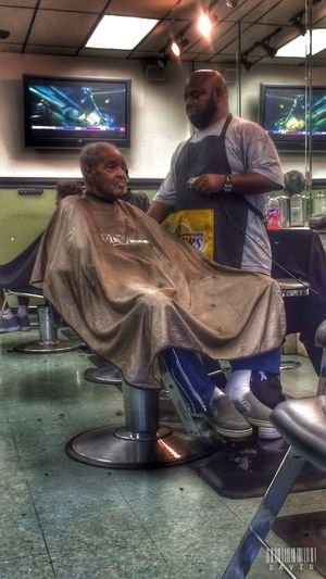 Haircut Getting Fresh Hdr_Collection HDR People Barbershop