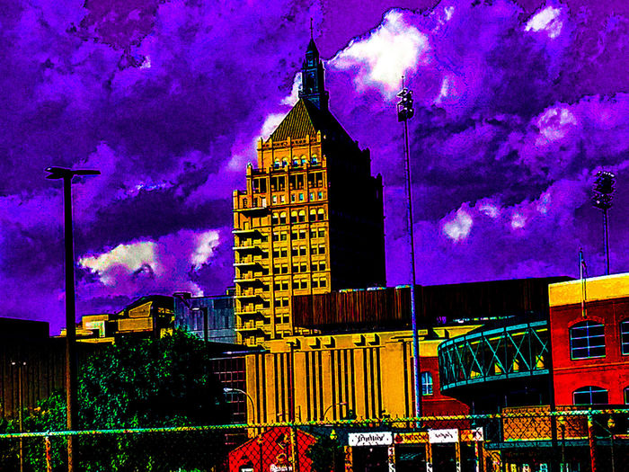 Playing With Effects Taking Photos Check This Out That's Me Hello World Clouds And Sky Enjoying Life Traveling Old-fashioned Old Architecture Rochester, NY New York 43 Golden Moments Trippy Edits Old Buildings Travelphotography Purple Sky Beautiful ♥ Purple Reign Purple Rain Follow me please I'll follow back 💕