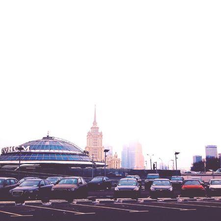 Moscow Fog Minimalism Cars