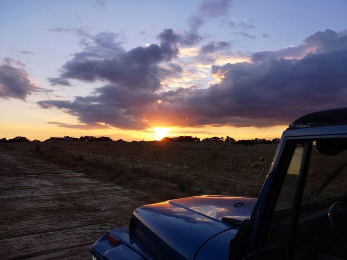 Sunset Sky Cloud - Sky Landscape
