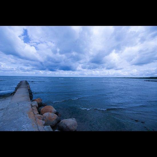 Stenbrygga i Båstad Bastad Ocean Pier