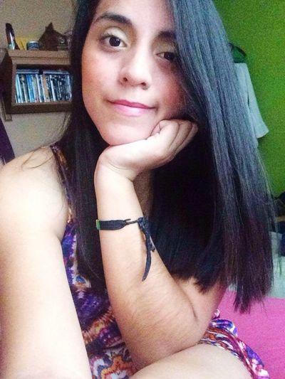 Today's Hot Look Dreess Girl Selfies Me :)