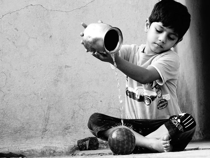 ITS ALL ABOUT STYLE Candid Photography Canonphotography Casual Clothing Child Childhood Children Only Day Fashion&love&beauty Fashion, Model Handsome Pretty Boy Music Musical Instrument One Boy Only One Person Outdoors People Playing Sitting Style