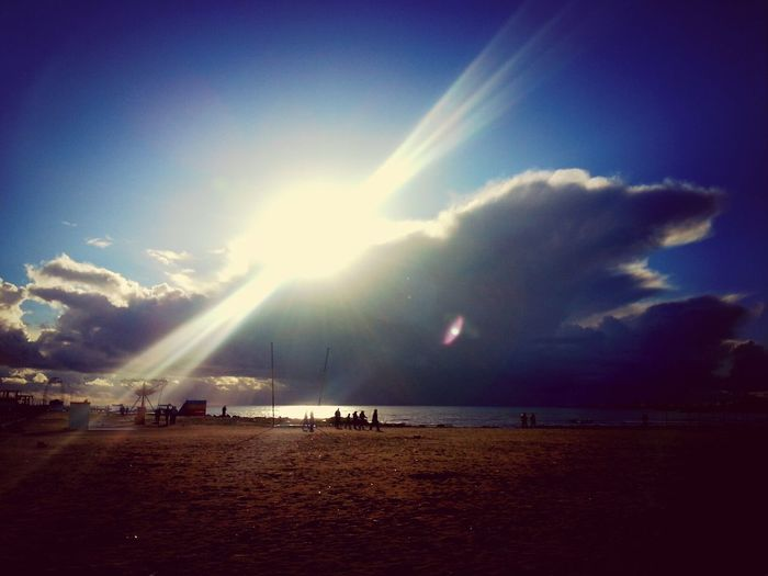 Durres Sun And Clouds Sea And Sky Storm Clouds