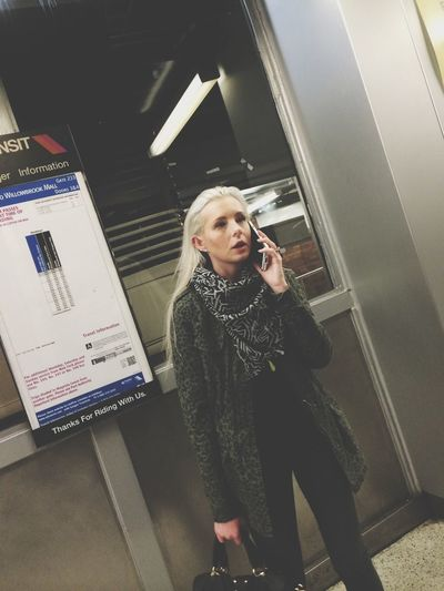 On The Phone...