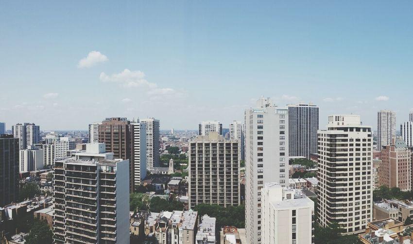City Skyline Downtown Chicago