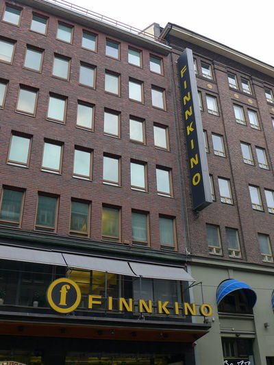 Architecture Building Exterior Built Structure Cinema City Communication Day Finnkino Finnland Kino Low Angle View No People Outdoors Window