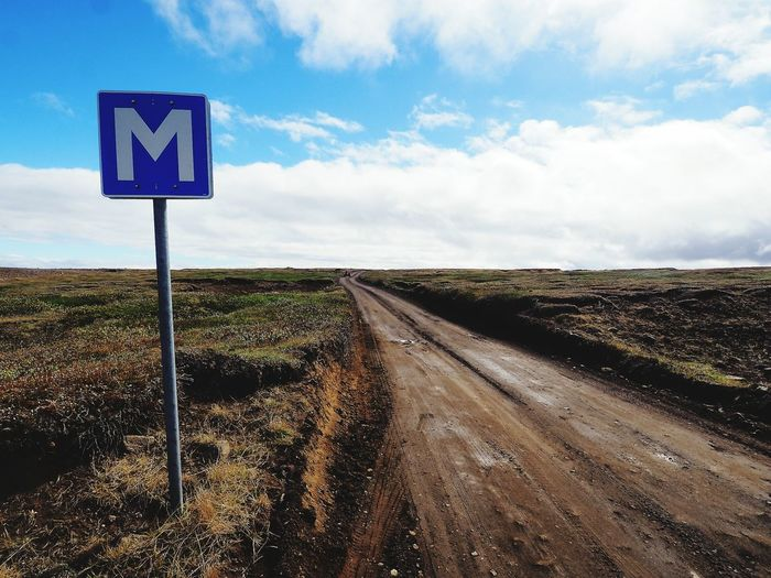 In the middle of nowhere Road Cloud - Sky Landscape Nature Road Sign Iceland Road To Asbirgy Canyon Road From Dettifoss Silence Silence Of Nature Nobody Around Is It Anybody Out There? Your Ticket To Europe Metro EyeEmNewHere The Week On EyeEm Lost In The Landscape An Eye For Travel