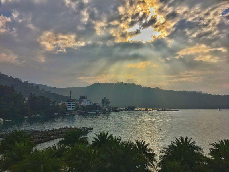 Sunset @ Sun Moon Lake Sunmoonlake Taiwantrip2017