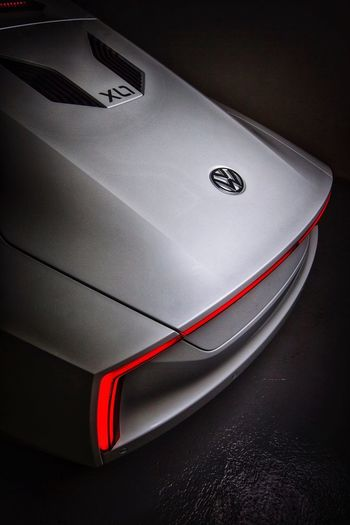 VW XL1 Hybrid Car Sustainability Hybrid High Angle View Close-up No People Indoors  Car Still Life Motor Vehicle Mode Of Transportation Technology The Creative - 2018 EyeEm Awards