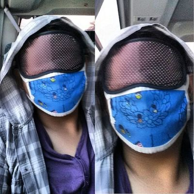 Babye, nakakahilong amoy ng bus. Babye, sleepless byahe. ;) Eyemask 100happydaysJLR 100happydays