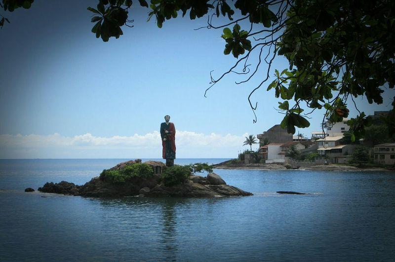 Abençoa a pesca diária!!! Espírito Santo Es Guarapari Prainha Pescadores Santo Padroeiro Eye4photography  EyeEm