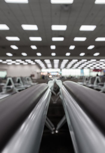 Travel Airport Airport Terminal Architecture Ceiling Connection Diminishing Perspective Direction Illuminated In A Row Incidental People Indoors  Lighting Equipment Mode Of Transportation Modern Motion Moving Walkway  Public Transportation Technology The Way Forward Transportation Travel