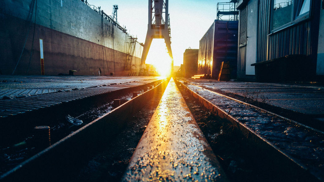 Architecture Building Exterior Built Structure Construction Construction Work Day Gdynia Hardwork Light No People Outdoors Poland Production Ship Shipyard Shipyardlife Sky Spring Springtime Streetphotography Sun Sunlight Sunlight Sunrise Sunset