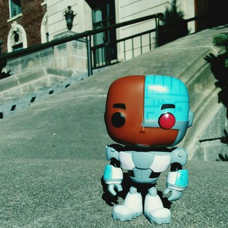 The Color Of Technology Building Exterior City Life Day Cyborg Teentitans Outdoors Front View Multi Colored Full Frame Amazing Close-up Vibrant Color Eyem Best Shots Funkofunatic Funko Man Made Object Surface Level Architecture Doinghisthing Toy Colorful Funkopopvinyl Close Up Photography Built Structure