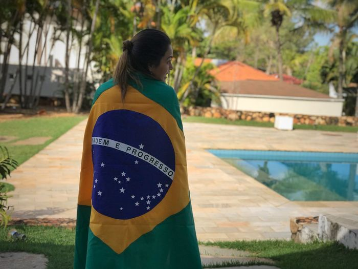 Worldcup Brazil Brasil One Person Water Pool Focus On Foreground Real People Day Women World Cup 2018