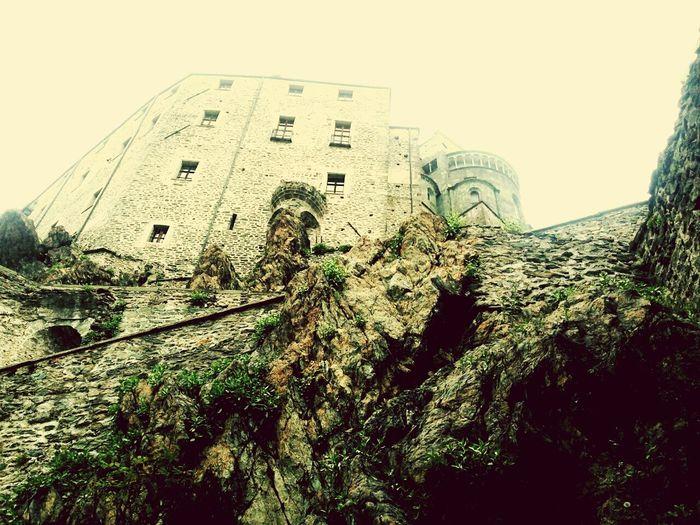 Medieval Architecture Journey Valdisusa Rosminiani Rocks Ardesia Discovering