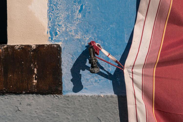 Architecture Burano, Venice Colors Italia Shadow And Light Travel Travel Photography Venezia Venezia, Italia Venice, Italy Burano Color Colorful Curtain Day Hardware Italy No People Outdoors Photography Shadow Streetscape Sunlight Venice
