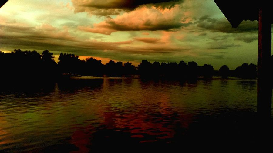 Enjoying The Sunset Remember Summer  Color Explosion