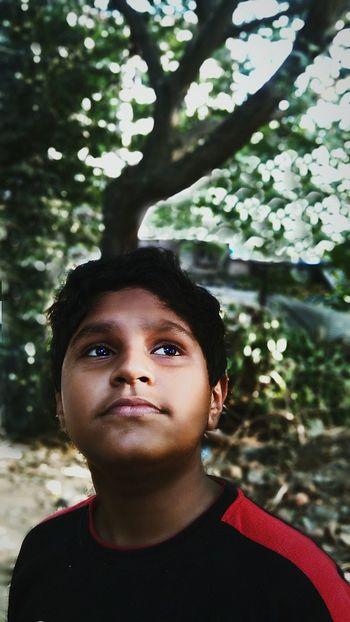 Portrate Blue Eyes Mobile Photography Enjoying Life at Mumbai Bhatwadi