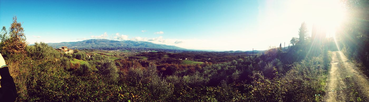 Photography Taking Photos Panorama Valdarno Toscana Sunny Day Sunny☀ Beautiful Day Beautiful Nature