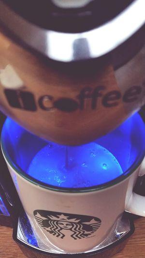 Morning refill (refuel)... Coffee Time Hello World
