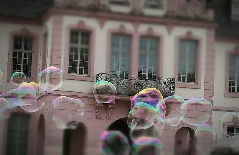 Colour Of Life Bubbles Trier City , Rheinland-Pfalz , Germany