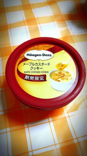 Häagen-Dazs ハーゲンダッツ アイス Food Ice Cream Sweet 期間限定 Limitedtimeoffer メープルカスタードクッキー Maplecustard Cookie