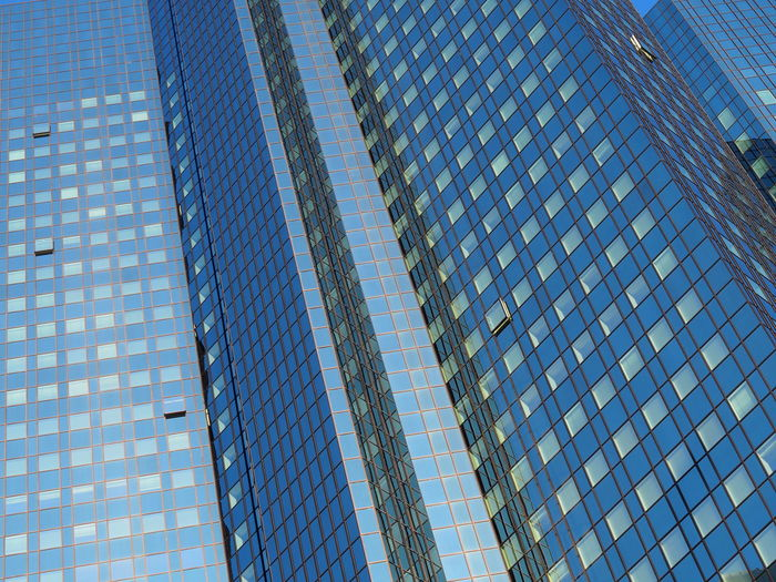 Architecture Blue Building Exterior Built Structure Business City Corporate Business Day Development Financial District  Glass - Material Growth Low Angle View Modern No People Office Park Outdoors Reflection Sky Skyscraper Tall Window
