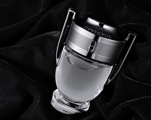 Pacorabanne Invictus Perfume Photography