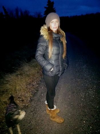 Mydaughter❤️ Inthenight MyLove ♡ Evening Walk