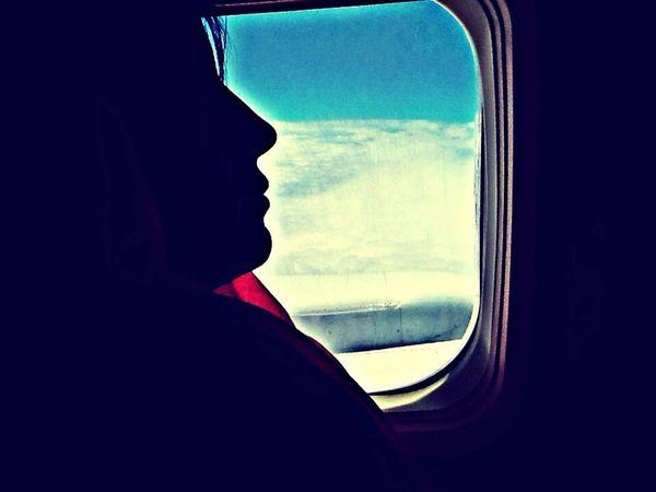 Mom❤️ Silhouette Taking Photos Travel Family