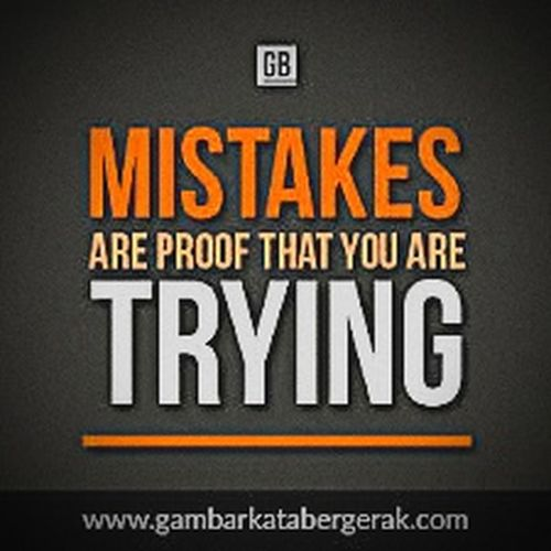 Mistakes Happen To Anybody Trying To Wake Up... Love Who Always Makes Mistakes😘😘