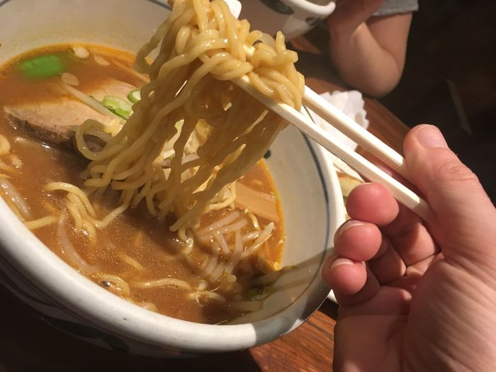 Ramen Food Food And Drink Hand Human Hand Japanese Food Japon Noodle Soup Pasta Ramen Ramme Real People Soup Soup Bowl