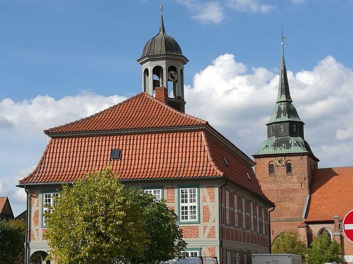 Rathaus Boizenburg Halftimbered Mecklenburg-Vorpommern Townhall Tower Architecture Boizenburg Building Building Exterior Churchtower Germany Townhall Architecture