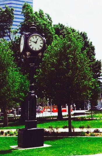 Streetphotography Oklahoma City Downtown OKC IPhoneography Upclose Street Photography Upclosestreetphotography Oklahoma Downtown Street Photography Nature Photography Clock Street Clock
