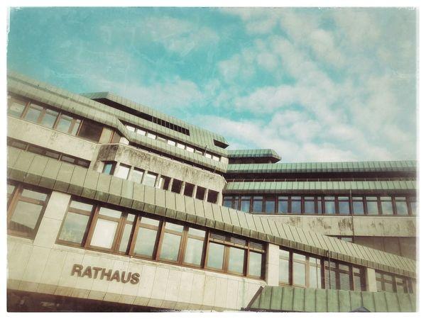 Rathaus Architecture Urbanexploration Urban Building Rathaus City Hall Saarland Homburg