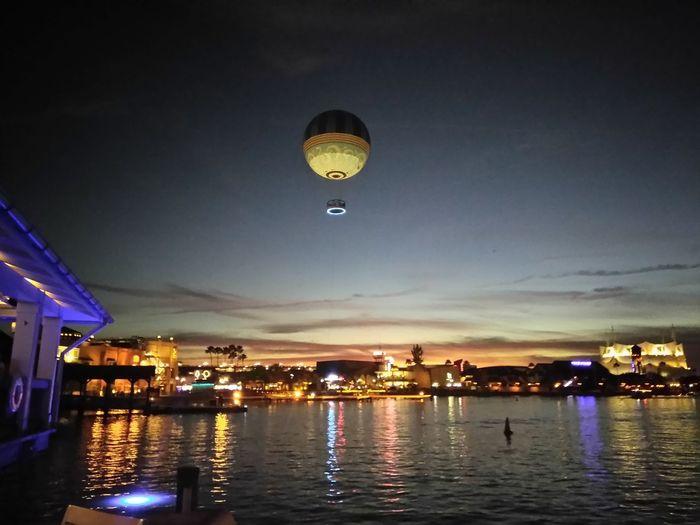 balloon over