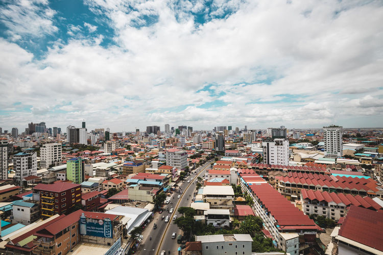 Cambodia phnom penh 2021 during pandemic more development and more investment