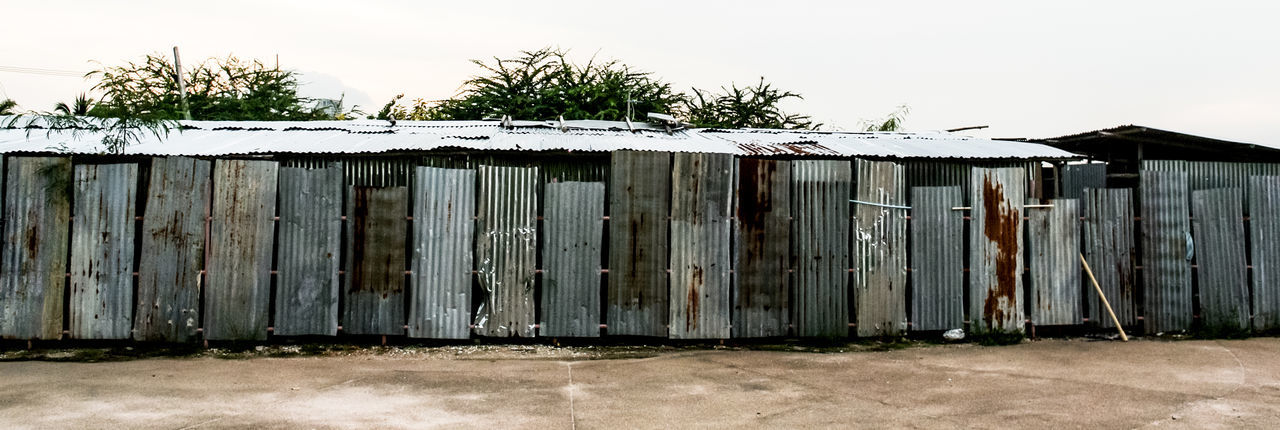 Camp Chon Buri Si Racha Thailand Abandoned Architecture Building Building Exterior Built Structure Camp Damaged Day House Hut Iron Laber Laboratory Metal Nature No People Obsolete Old Outdoors Roof Sky Zinc