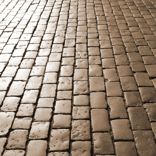 stones called sampietrini in italian language for the pavement Architecture Paris Textured  Vatican Background Backgrounds Flat Outdoors Pattern Pave Pavement Pavimento Paving Stone Rectangle Rock - Object Sampietrini Sampietrino Sampietrino Romano Sanpietrino Stone Textured
