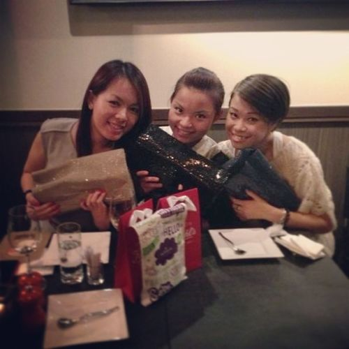 Happy Christmas gifts exchanging! @pheb @yukicccc