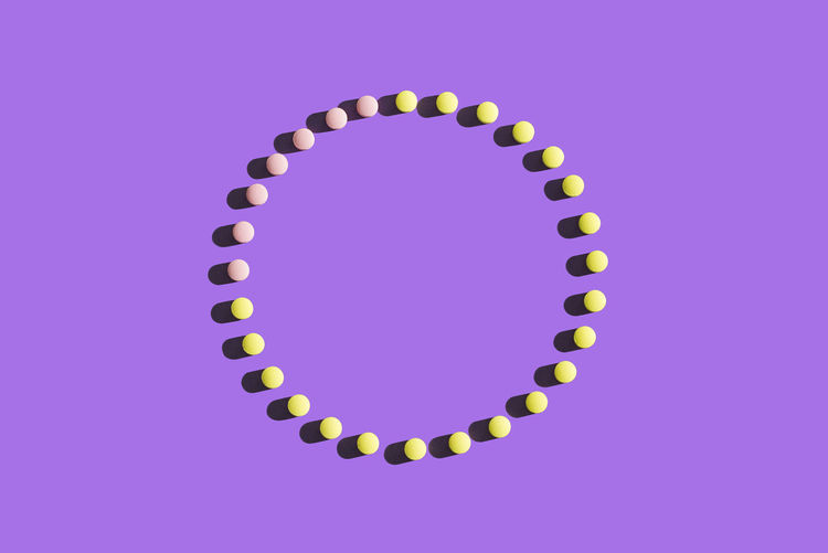 The 28 day cicle of the contraceptive pill 28 Days Birth Control Pill Circle Cycle Medicine Anticonception Anticonceptive Pill Birth Control Contraceptive Contraceptive Pill Large Group Of Objects Monthly No People Period Pharmaceutical Pharmaceuticals  Pill Purple Studio Shot