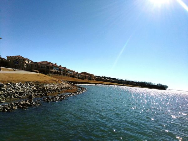 Water View Day Outdoors Water Sky No People Sun🌅 Enjoying The View Beauty In Nature The Harbor Rockwall Rockwall, TX