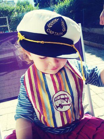 Captain Thaïs Child Portrait